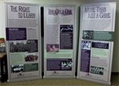 Traveling exhibit from the African American Museum of Iowa on loan to Linn County until Feb. 27.