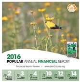Cover of FY16 PAFR