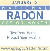 January is National Radon Action Month