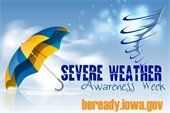 Severe Weather Awareness Week Logo