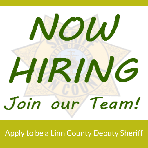Linn County Sheriff is hiring Deputies
