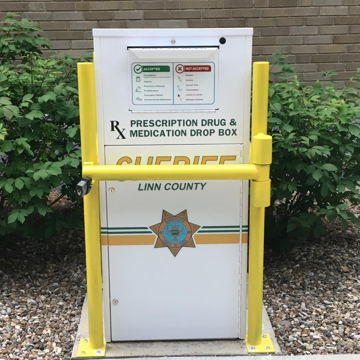 Linn County Sheriff's Office Drug Drop Box