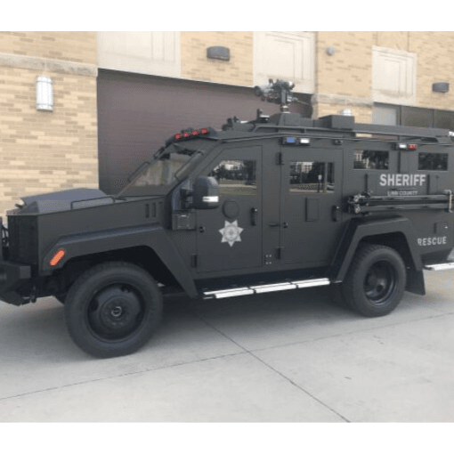 Bear Cat Armored rescue Vehicle