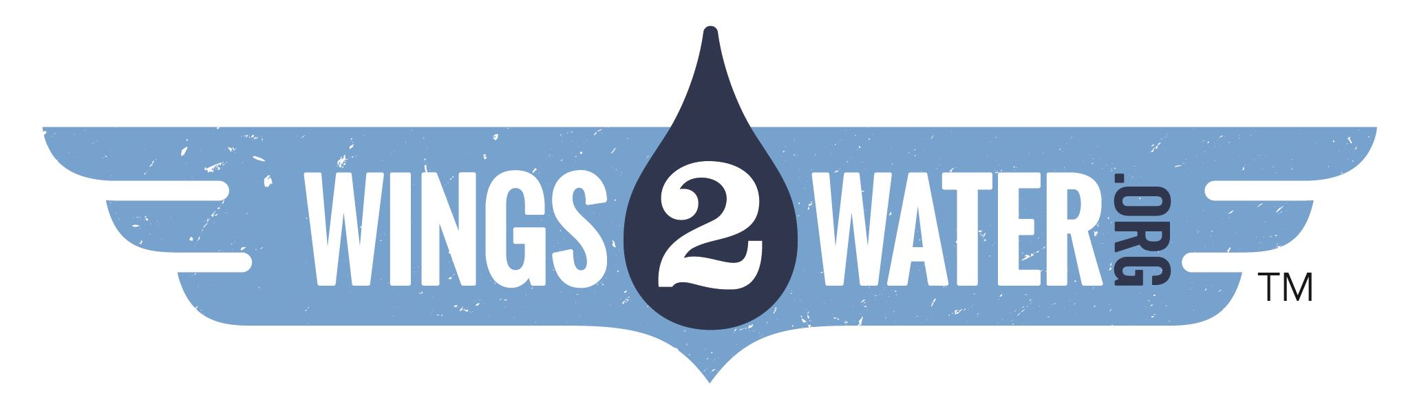 Wings2Water Logo dot org color logo
