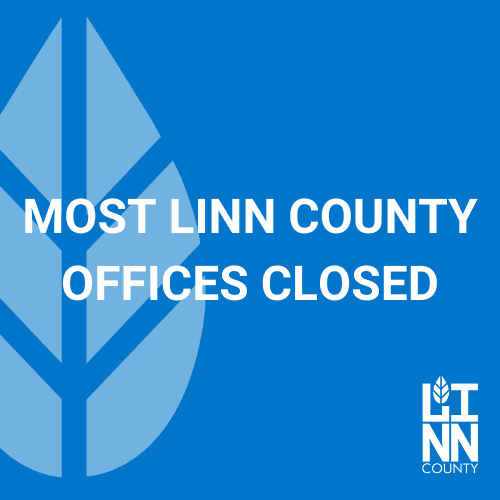 Most Linn County Offices Closed