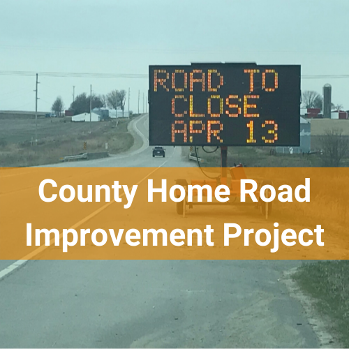 County Home Road Improvement Project