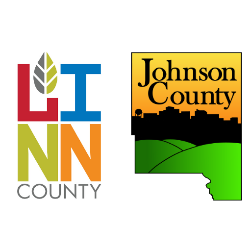 Linn and Johnson County logos