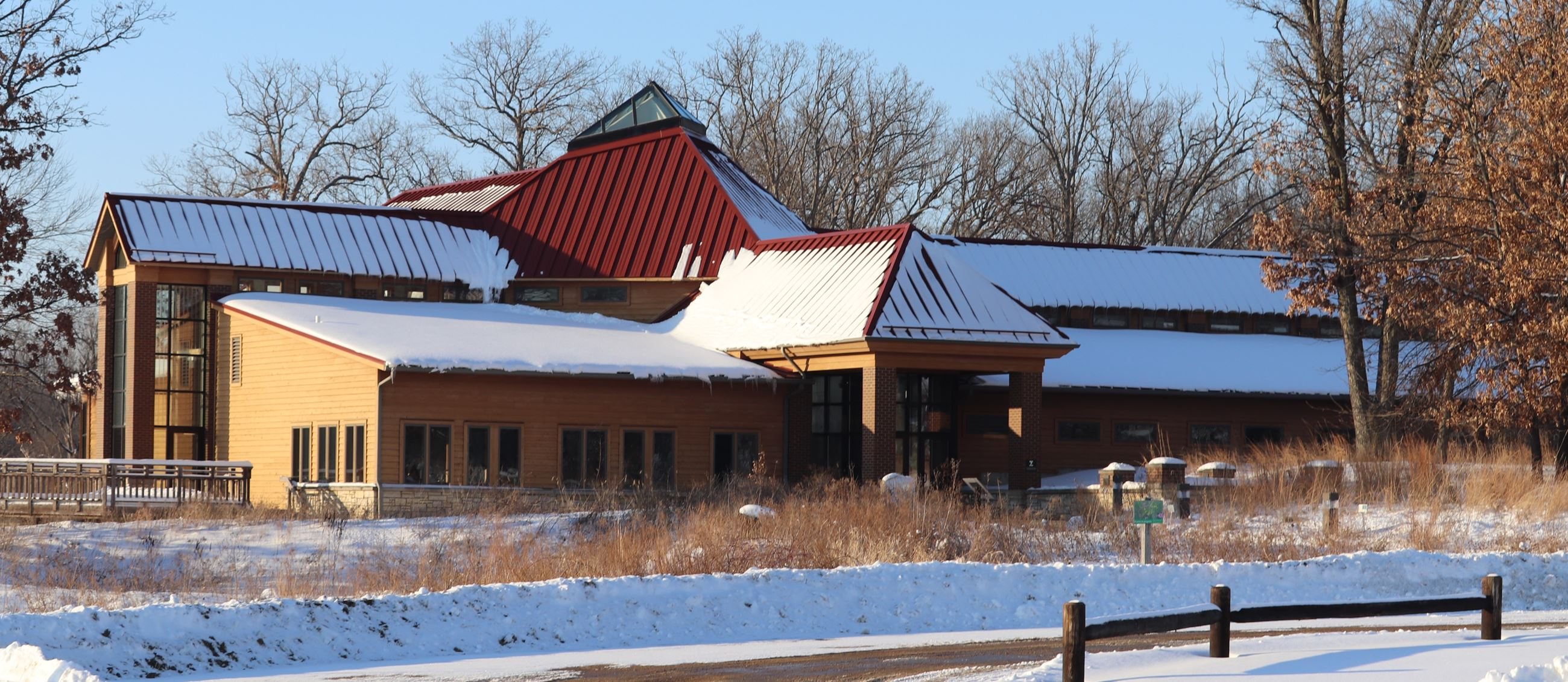 WickiupHill Learning Center in winter