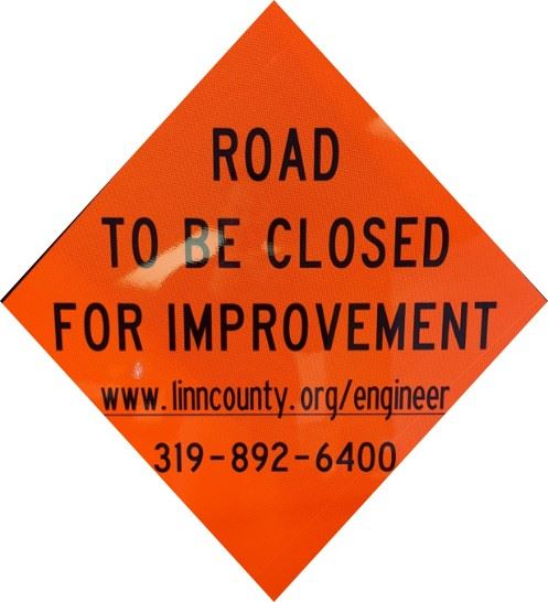 Road To Be Closed For Improvement