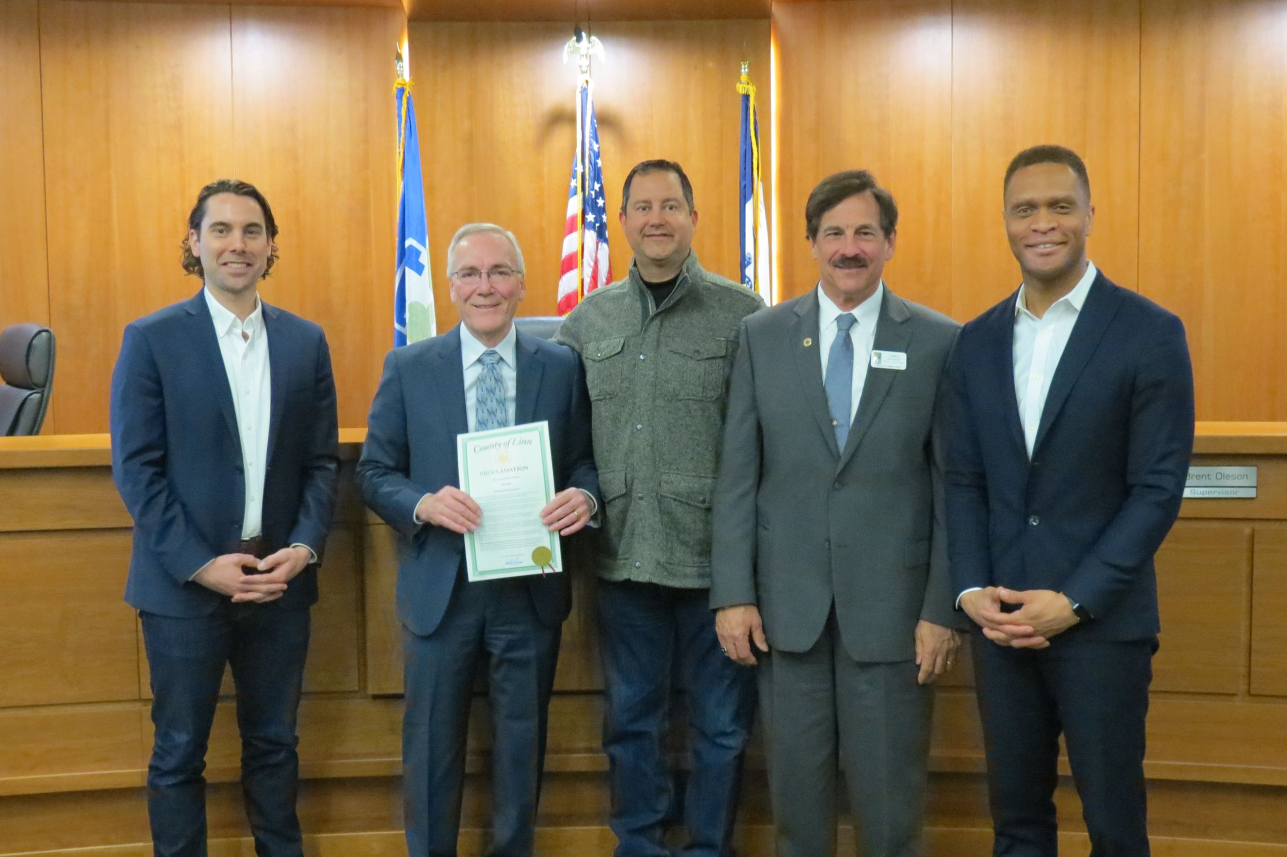 Board Proclaims April 2018 National County Government Month
