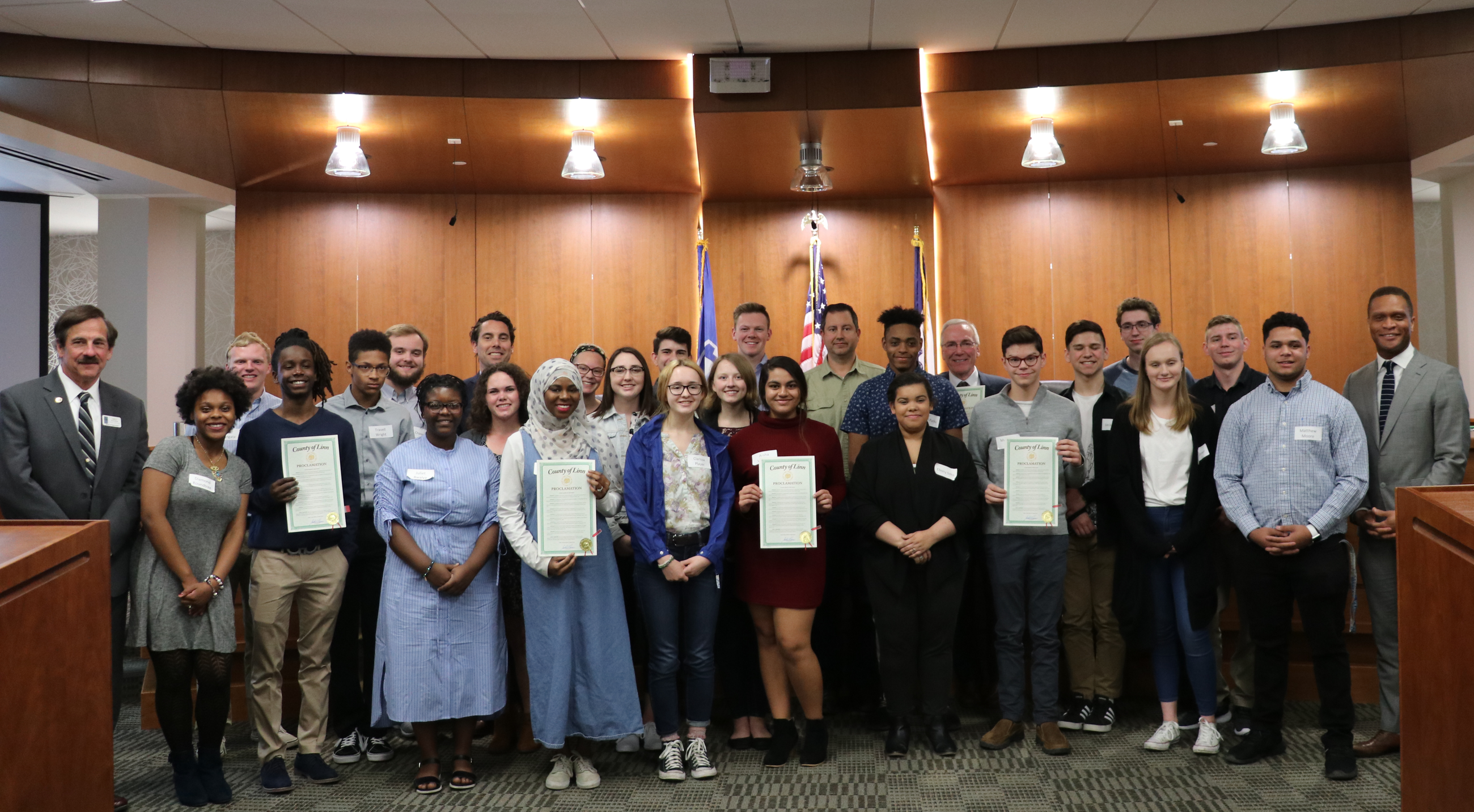 Future Leaders of Linn County Proclamation