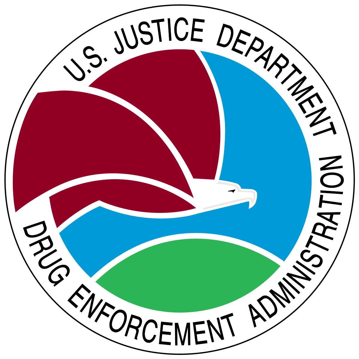 U.S. Justice Department Drug Enforcement Administration Logo