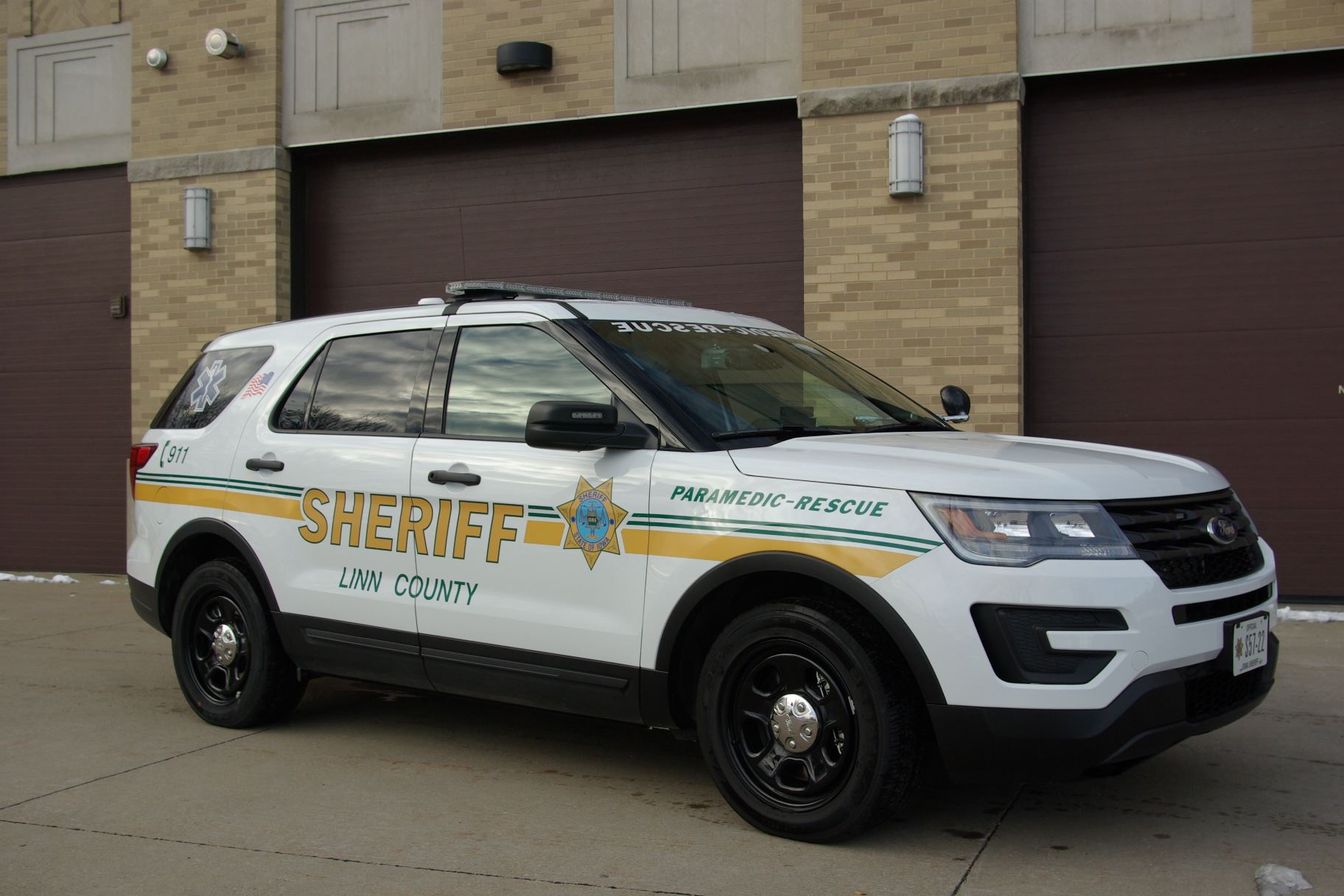 Linn County Sheriff's Office Rescue 57 SUV