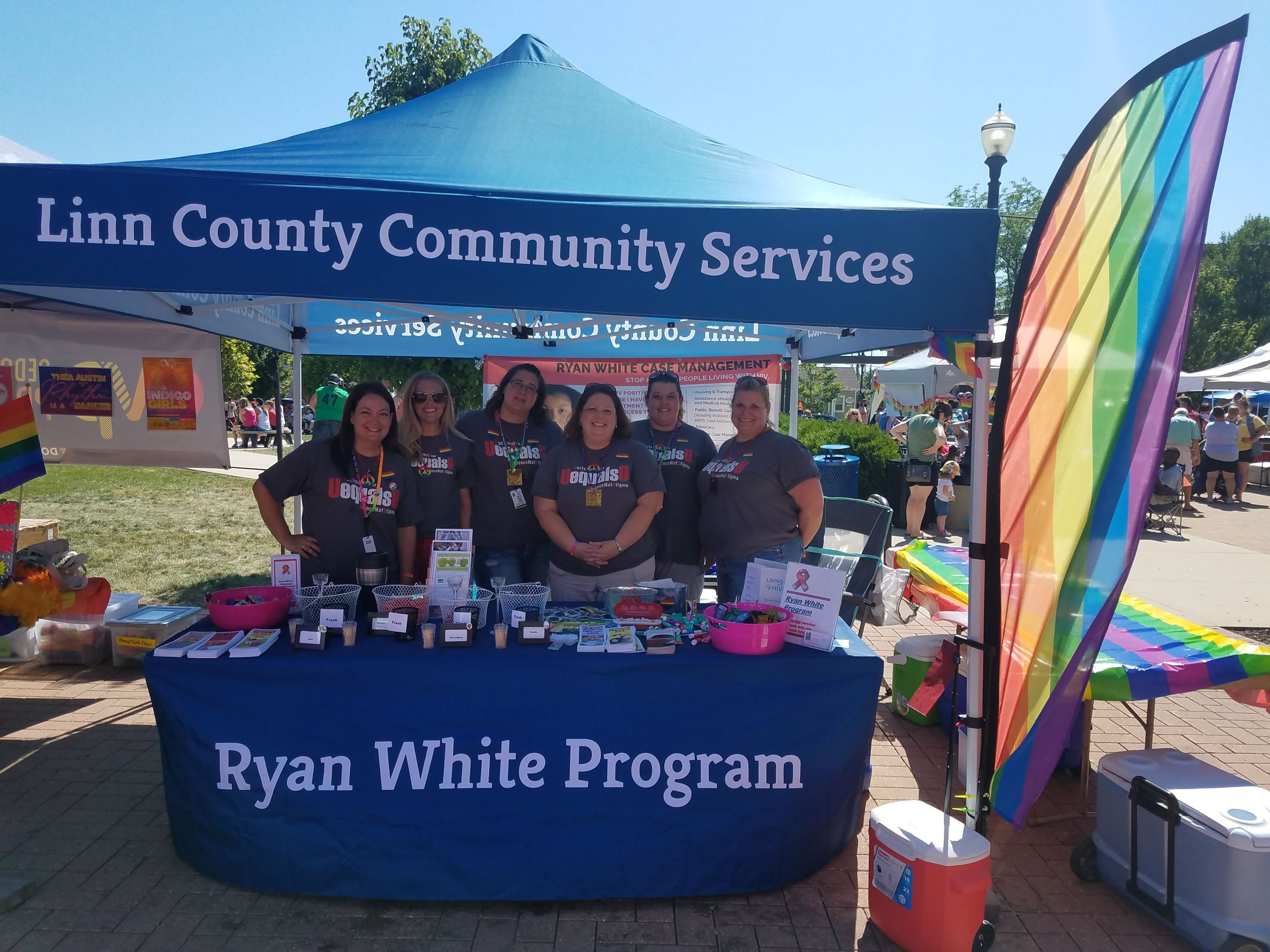 Ryan White Program Tent