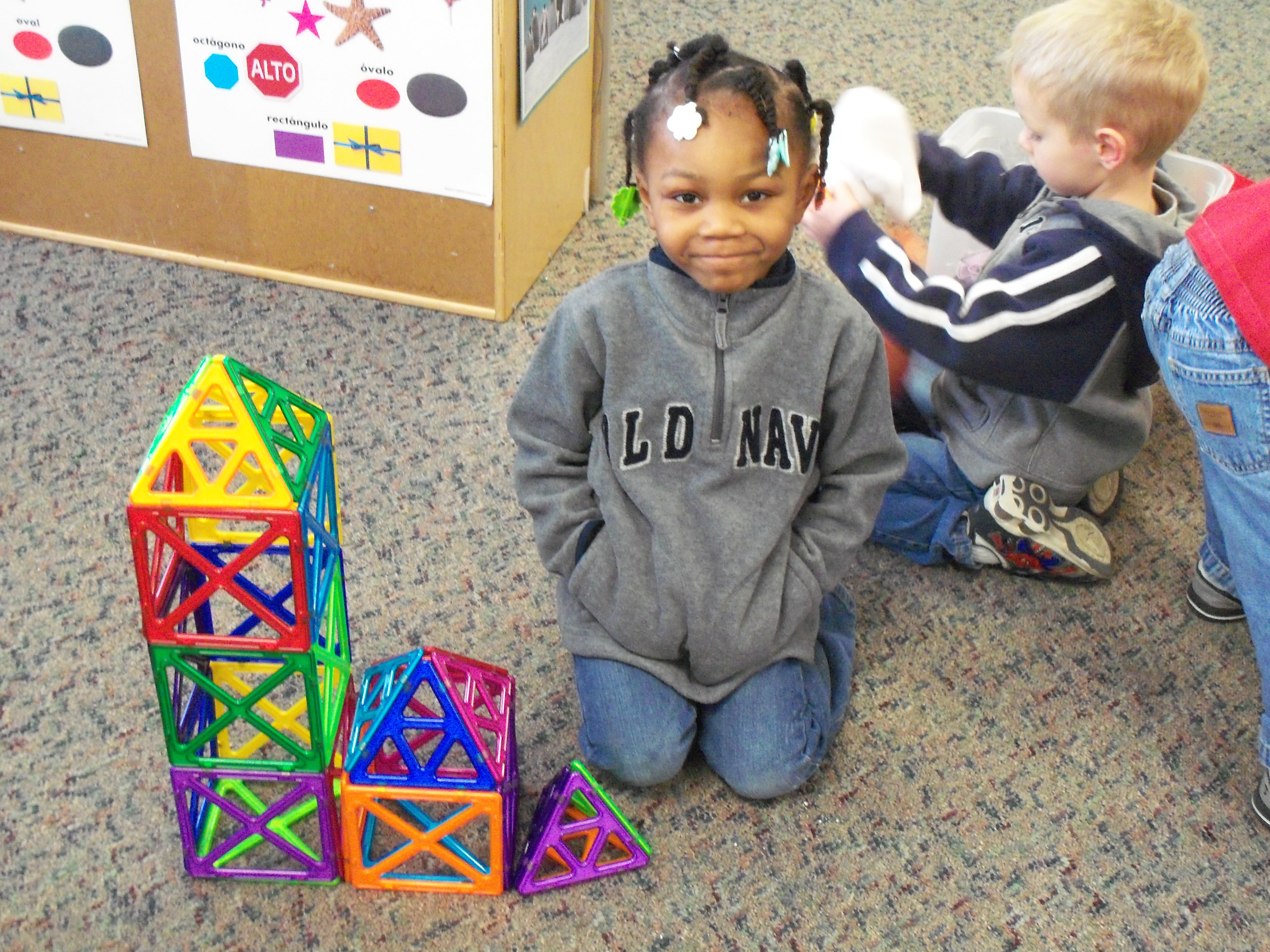 Child Development Center building blocks