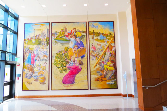 Mural - Jean Oxley Linn County Public Service Center